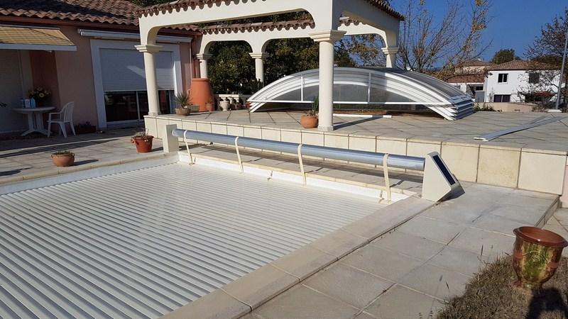 Couverture de piscine à Aix-en-Provence