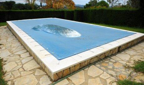 Bâche d'hivernage pour piscine Aix-en-Provence