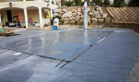 Bâche à barres pour piscine Aix-en-Provence