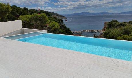 Volets roulants piscine fond de bassin Aix-en-Provence